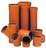Труба канализационная ПВХ гладкая 160, 110