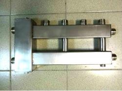 Коллектор отопления с гидрострелкой Gidruss BMSS-100-3U из нержавеющей стали