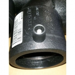 Отвод 125 электросварной 11,25° ПЭ 100 SDR11