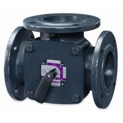 Клапан ESBE регулирующий поворотный 3F65, KVS 90