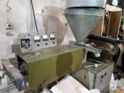 Линия для изготовления полипропиленового ворса, лески, мононити, щеточных дисков
