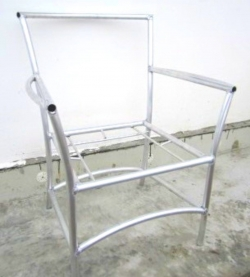 Каркас кресла алюминиевый