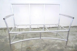 Каркас дивана алюминиевый