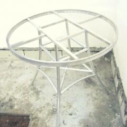 Каркас стола алюминиевый