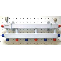 Модульный коллектор отопления Gidruss MK-40-4D
