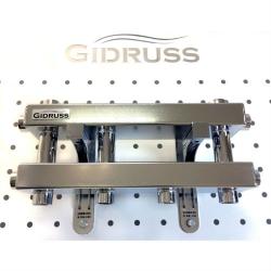 Модульный коллектор отопления Gidruss MKSS-60-3D из нержавеющей стали