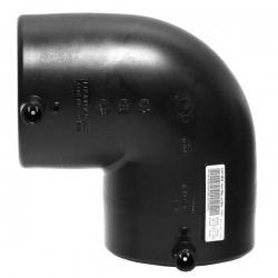 Отвод 75 электросварной 90° ПЭ 100 SDR11