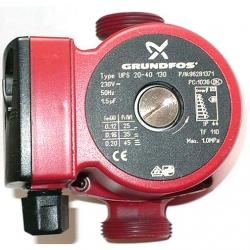 Насос циркуляционный Grundfos UPS32-80 180 1x230V с гайками