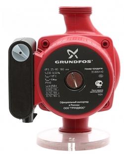 Насос циркуляционный Grundfos UPS 25-40 180 1x230V с гайками