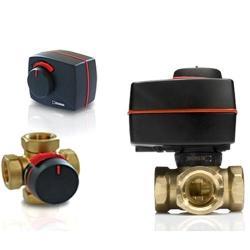 Комплект клапан VRG131 25-10 и электропривод (сервопривод) ESBE поворотный ARA 661