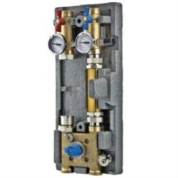 Насосный модуль Valtec Varmix VT.VAR20.G.07 с байпасом и трехходовым клапаном