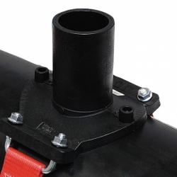 Седелочный отвод 710-800x200 электросварной ПЭ 100 SDR11