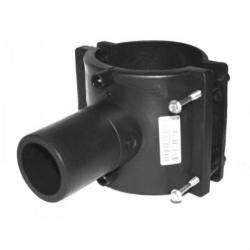 Седелочный отвод 355-450x140 электросварной ПЭ 100 SDR11