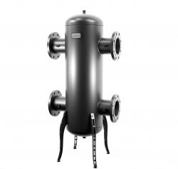 """Гидрострелка Gidruss """"Гидравлический разделитель GR-2000-150 (до 2 мВт, фланец 1-150-10 ГОСТ 12820-81, корпус из бесшовной трубы D=377 мм ст. 09Г2С толщиной 9 мм, 4 подключения Rp ½″) Артикул: GR 20F00 20"""