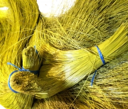 Ворс полипропиленовый для щеток, цвет желтый, 3 мм