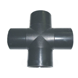 Крестовина 110 сварная ПЭ 100 SDR21