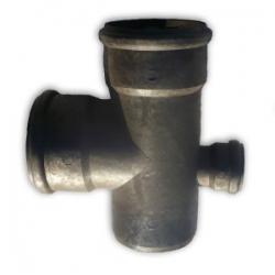 Крестовина пнд 110x110х50х90 канализационная