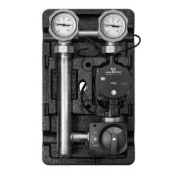 """Насосная группаMeibes«Поколение 8 MK 1"""" с эл.термостатом, ограничителем температуры подачи с насосом Grundfos UPS 25-60»"""