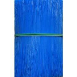 Ворс полипропиленовый для щеток, цвет синий, 4 мм