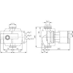Насос циркуляционный Wilo Stratos 100/1-12 PN10