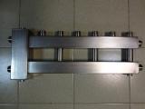 Коллектор отопления с гидрострелкой Gidruss BMSS-60-4U из нержавеющей стали