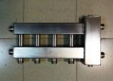 Коллектор отопления с гидрострелкой Gidruss BMSS-60-5D из нержавеющей стали