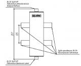 Гидрострелка нержавеющая Gidruss Гидрус GRSS-100-35PF до 100 кВт, под пресс-фитинги 35 мм Артикул: GG 10PA0 20