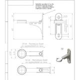 Комплект настенного монтажа Gidruss K.GRSS-250