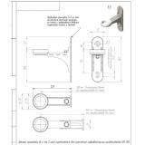 Комплект настенного монтажа Gidruss K.GRSS-150