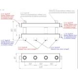 Модульный коллектор отопления Gidruss MK-40-3D