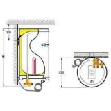 """Водонагреватель OSO (ОСО) Hotwater """"Экспорт RW 30 узкий"""" 1x230В нижн. подключ. (30 л,  накопительный, электр,  настенный,  предохран. клапан)"""