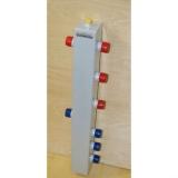 """Термо-гидравлический разделитель Gidruss """"Гидрострелка с вертикальным коллектором TGR-60-25x4"""" для отопления"""