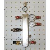 """Термо-гидравлический разделитель Gidruss """"Гидрострелка с вертикальным коллектором TGRSS-40-20x2"""" для отопления"""