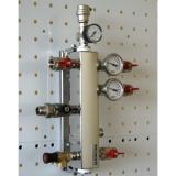 """Термо-гидравлический разделитель Gidruss """"Гидрострелка с вертикальным коллектором TGRSS-60-25x2"""" для отопления"""