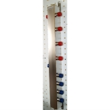 """Термо-гидравлический разделитель Gidruss """"Гидрострелка с вертикальным коллектором TGRSS-60-25x5"""" для отопления"""