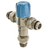 Клапан (вентиль) смесительный термостатический трехходовой Valtec Thermomix регулируемый