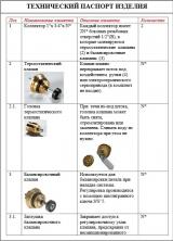 """Коллекторный блок Valtec из нержавеющей стали 1"""", 4x3/4"""" с термостатическими клапанами"""
