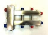 Коллектор отопления с гидрострелкой Gidruss BMSS-100-3DU из нержавеющей стали