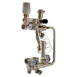 Насосно-смесительный узел для теплого пола Valtec COMBI.S с сервоприводом