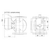 Контроллер ESBE поворотный CRA121220В 15Нм