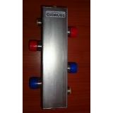 """Гидрострелка Gidruss """"Гидравлический разделитель GRSS-400-65"""" для отопления из нержавеющей стали"""