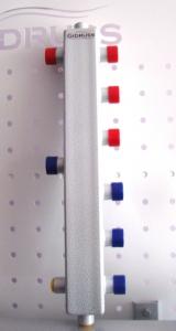 """Термо-гидравлический разделитель Gidruss """"Гидрострелка с вертикальным коллектором TGR-60-25x3"""" для отопления"""