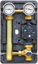 """Насосная группаMeibes«Поколение 8 MK 1 1/4"""" сосмесителем с насосом Grundfos UPS 32-60» с правой подачей"""