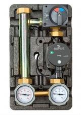 """Насосная группа Meibes «Поколение 8 MK 1"""" с термостатом обратной линии с насосом Grundfos UPS 25-60»"""