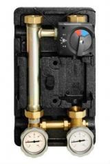 """Насосная группа Meibes «Поколение 8 MK 1"""" с термостатом обратной линии, без насоса»"""