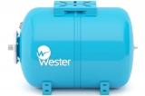 Бак мембранный (гидроаккумулятор) Wester WAO80  горизонтальный водоснабжения