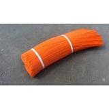 Ворс полипропиленовый для щеток, цвет оранжевый, 1 мм