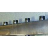 """Распределительный коллектор Gidruss """"Гребёнка DMSS-25-20х5"""" для горячей и холодной воды"""