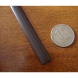 """Ротанг искусственный """"Полумесяц"""" 7 мм, шоколадный, текстура гладкая"""