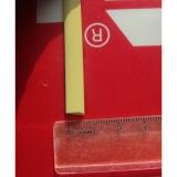 """Ротанг искусственный """"Полумесяц"""" 6-12 мм, кремовый светлый 88257, текстура гладкая"""